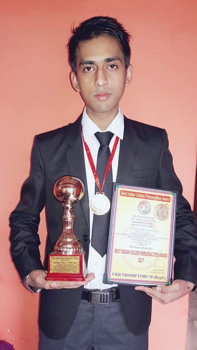 Best Indian Golden Personalies Award